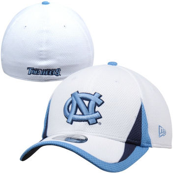 New Era North Carolina Tar Heels :UNC: Training Classic Flex Hat - White