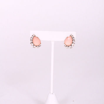 Vintage Summer Earrings (blush pink)