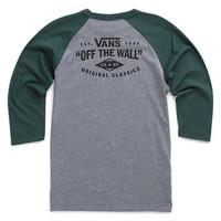Boys Original Classics Baseball Tee | Shop At Vans