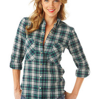 Kaitlyn Plaid Shirt