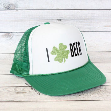 I (Love) Beer - St. Patrick's Day // Trucker Hat