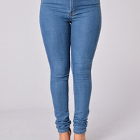 Easy Rider Jeans - Medium Blue
