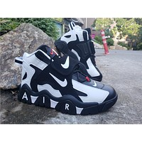 2019 Air Barrage Mid QS White/Black