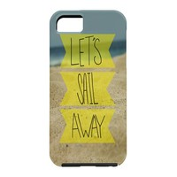 Leah Flores Sail Away Beach Cell Phone Case