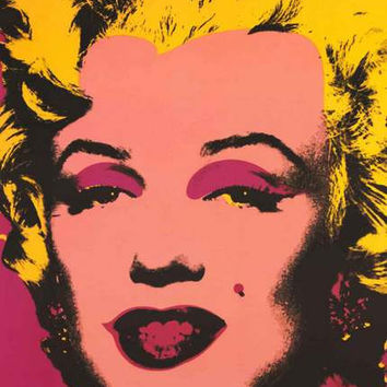 Marilyn Monroe Andy Warhol Pop Art Poster 24x36
