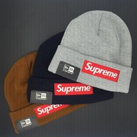 street fashion supreme knit hat
