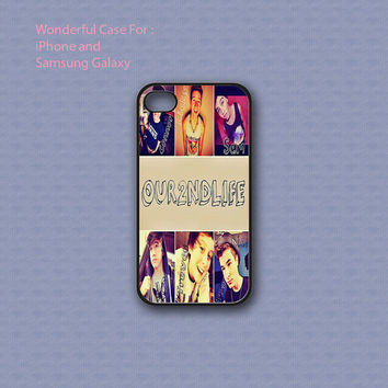 Our Second Life Collage - Print on hard cover for iPhone case and Samsung Galaxy case