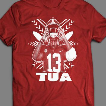 TUA TAGOVAILOA HAWAIIAN TRIBAL DESIGN T-SHIRT