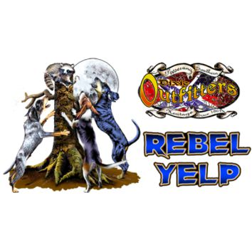 Rebel Yelp  Window Sticker by Dixie Outfitters®