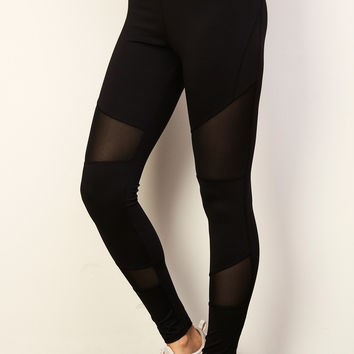 MESH PANEL ENERGY LEGGING