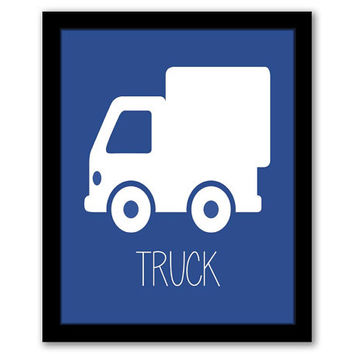 Truck Wall Art, Transportation Art, Toddler Decor, Nursery Art, Blue Decor, Kids Room, Baby Gift, Boys Room, Childrens Art, INSTANT DOWNLOAD