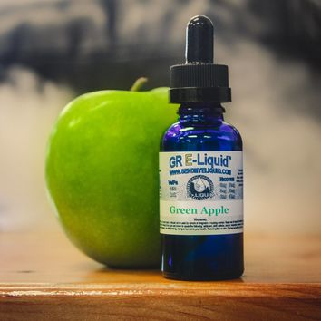 """Green Apple"" Vape Juice"