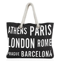 Z Gallerie - Cities Canvas Bag