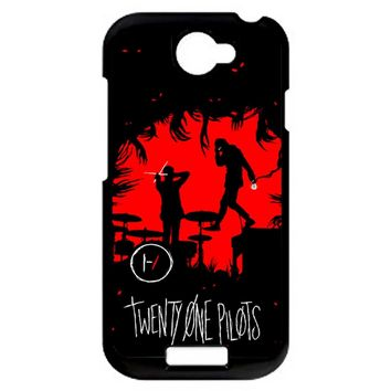 Twenty One Pilots Poster HTC One S Case