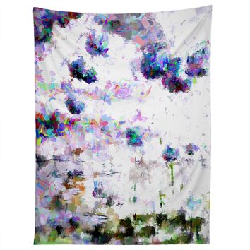 Ginette Fine Art Abstract Allium Magic Tapestry