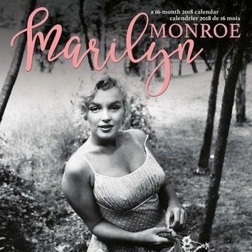 Marilyn Monroe (Bilingual French) 2018 Wall Calendar (French and English
