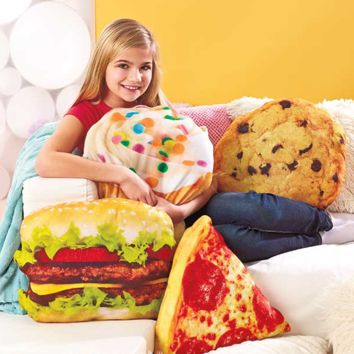 Novelty Shaped Food Pillow Dorm Bedroom