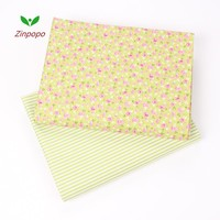 2 piece 40x50cm Cotton Fabric Sewing Quilting Patchwork quilts Tissue baby dress Bedding tecidos DIY Doll cloth fabrics K120