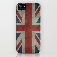 Union Jack  (3:5 Version) iPhone & iPod Case by Bruce Stanfield