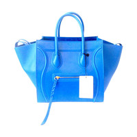 2013 - Celine Phantom Luggage Medium Tote Bag in Blue