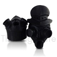 Bali Hand Carved Steampunk Gas Mask