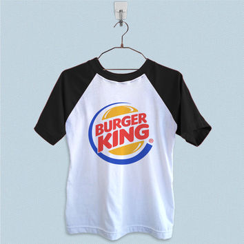 Raglan T-Shirt - Burger King Logo