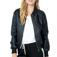 Totally Bugging Quilted Bomber