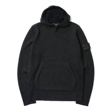 Hoody_Wo Chenille Antracite