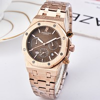 Audemars Piguet Women Men Fashion Quartz Watches Wrist Watch
