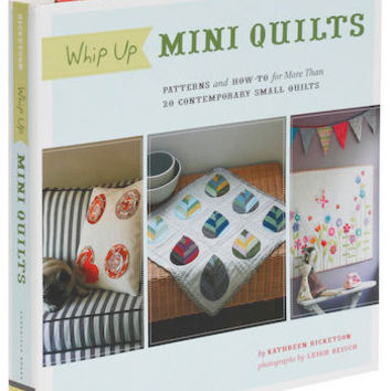 Whip Up Mini Quilts | Mod Retro Vintage Books | ModCloth.com