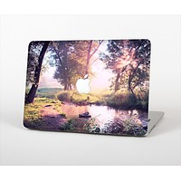 The Vivid Colored Forrest Scene Skin Set for the Apple MacBook Pro 15""