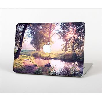 "The Vivid Colored Forrest Scene Skin Set for the Apple MacBook Pro 13"" with Retina Display"