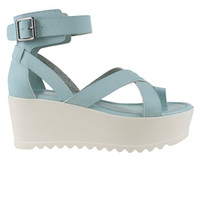 Shady Day Buckle Platform