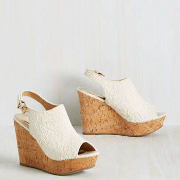 Life and Limerence Wedge | Mod Retro Vintage Heels | ModCloth.com