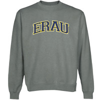 Embry-Riddle Eagles Arch Name Sweatshirt - Gunmetal