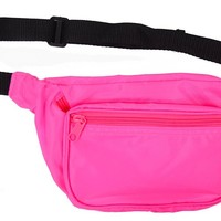 Neon Fanny Pack (Blank) (Neon Pink)
