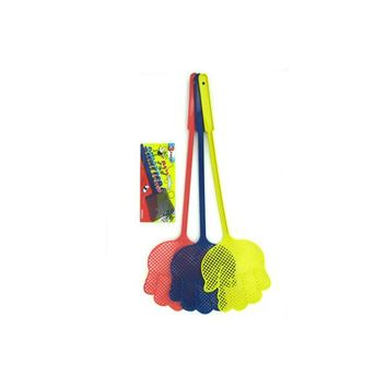 3 Pack Fly Swatters (assorted Colors) (pack of 24)