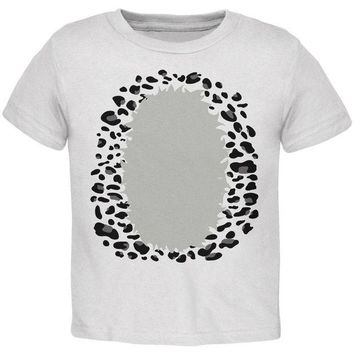 DCCKJY1 Halloween Snow Leopard Costume Toddler T Shirt