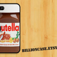 Nutella iPhone 4 Case iPhone 5 Case iPhone 4s Case idea case Galaxy Case