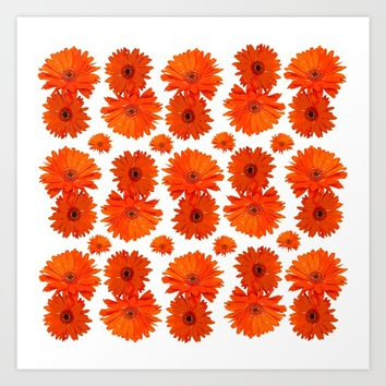 FlowerDesign6 Art Print by Regan's World