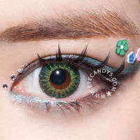 GEO Berry Holic Green Circle Lens Fashion Colored Contacts Korean Contact Lenses | EyeCandy's