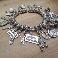 Ultimate Alice in Wonderland Charm Bracelet