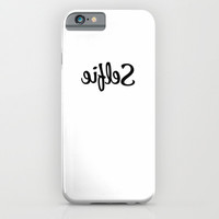 Selfie Instagram Typography iPhone & iPod Case by RexLambo | Society6