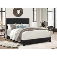 Crown Mark Erin Upholstered Panel Bed - Walmart.com