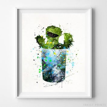 Oscar the Grouch, Sesame Street Print