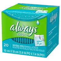 Always Clean Wipes-To-Go - 20 Count