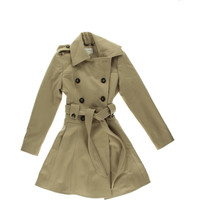 Laundry by Shelli Segal Womens Collared Long Sleeves Pea Coat