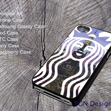Starbucks new york For iPhone 4/4S/5/5S/5C, Samsung Galaxy S3/S4, htc One X/x+/S Case, iPod Touch 4/5, Blackberry Case, Sony Case