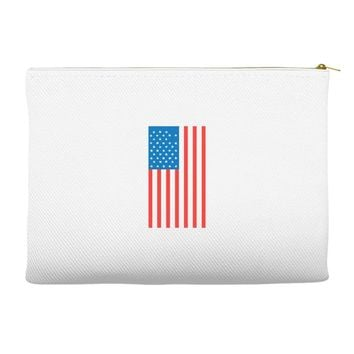american flag Accessory Pouches