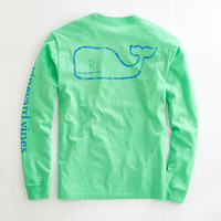 Vineyard Vines Vintage Whale Graphic Pocket Tee- Grenada Green